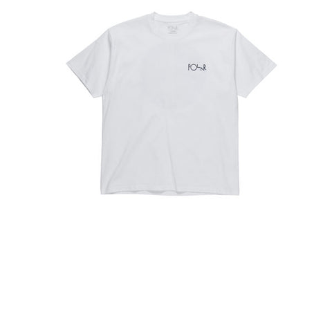Polar 69 Fill Logo Tee White