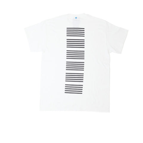 FNKST Lines Tee White Black - Kong Online - 2