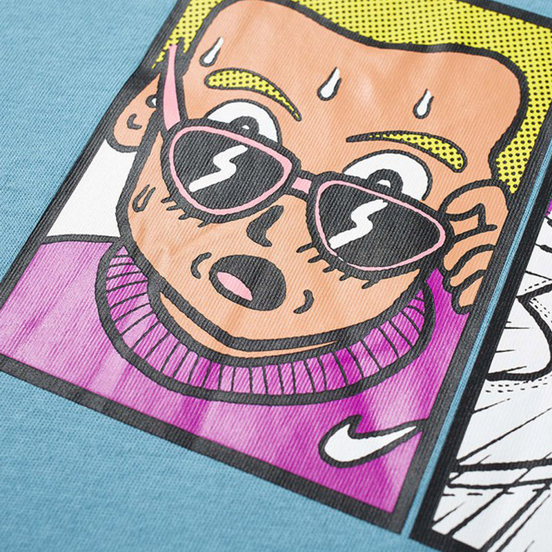 Nike FTRW Illustration Tee Cerulean
