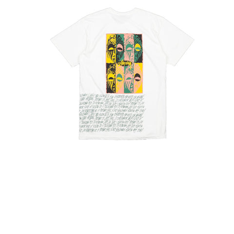 Stussy Masks Pig Dyed Tee Natural