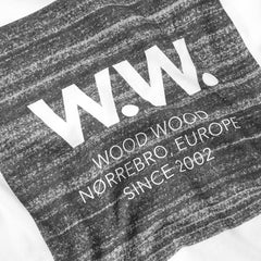 WOOD WOOD WW Square T-Shirt White - Kong Online - 2