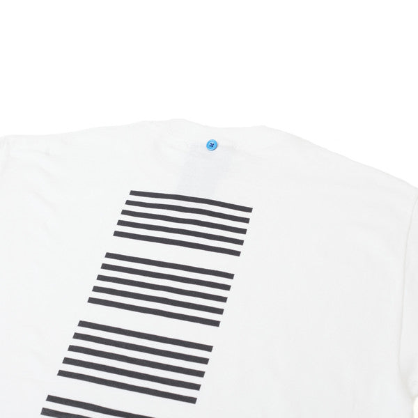 FNKST Lines Tee White Black - Kong Online - 3