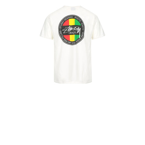 Stussy Rasta Pig Dyed Pocket Tee Natural