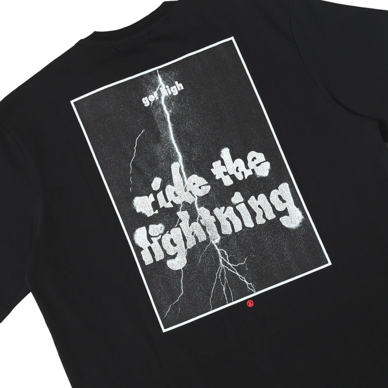 Kong Lightning Tee Black