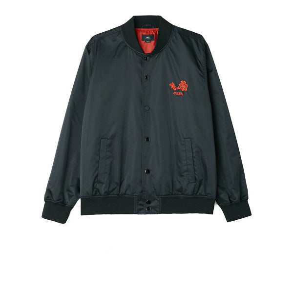 Obey Viktor Jacket Black