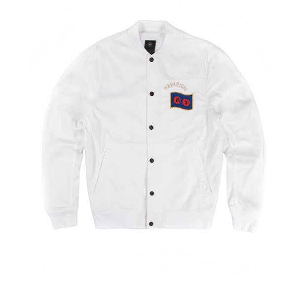 Maharishi Year Of The Rooster Jacket Maha White