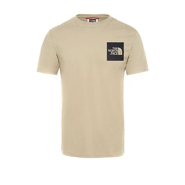 The North Face S/S Fine Tee Twill Beige