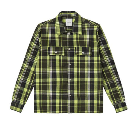 WOOD WOOD Franco Shirt Green Check