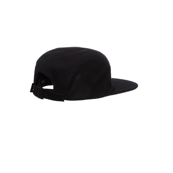 Stussy Foam Fleece USA Camp Cap Black - Kong Online - 2