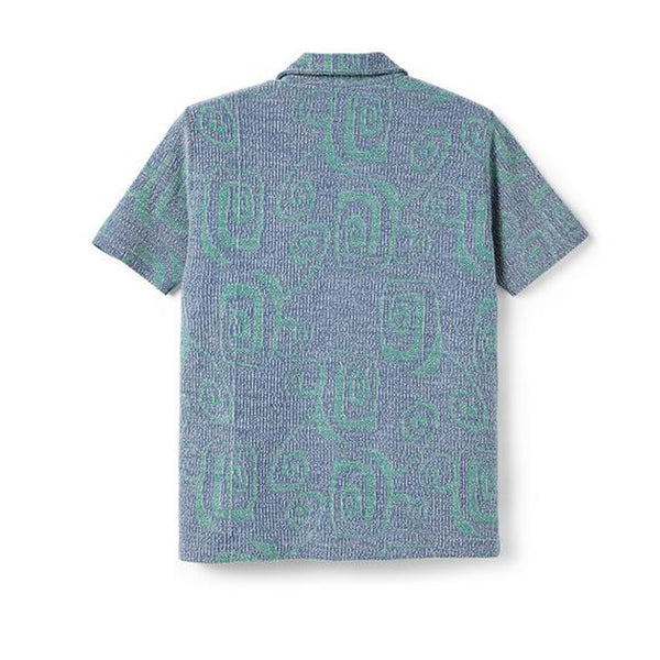 Polar Patterned Shirt Blue