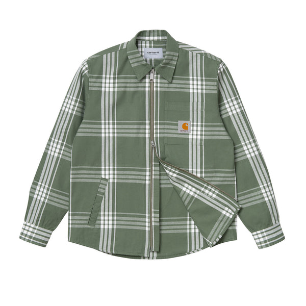 Carhartt WIP Cahill Shirt Jacket Cahill Check/Dollar Green