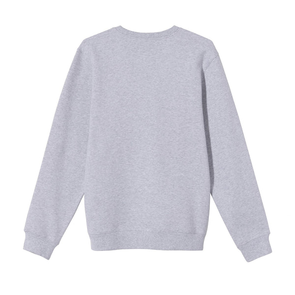 Stussy 80/20 Crew Ash Heather