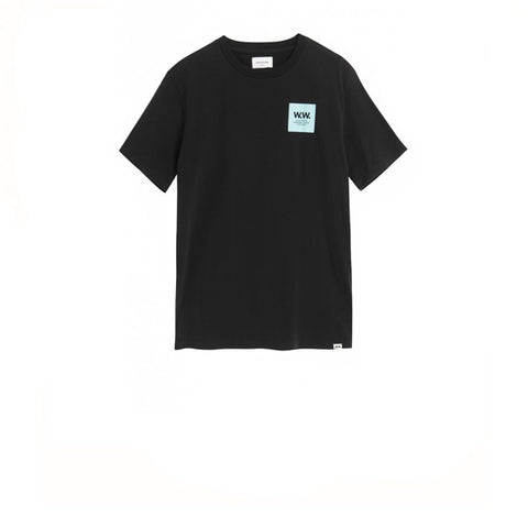 WOOD WOOD WW Box T-Shirt Black