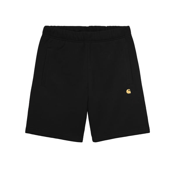 Carhartt WIP Chase Sweat Short Black/Gold