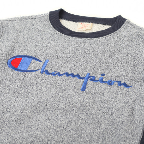 Champion Crewneck Sweatshirt Navy Heather - Kong Online - 2