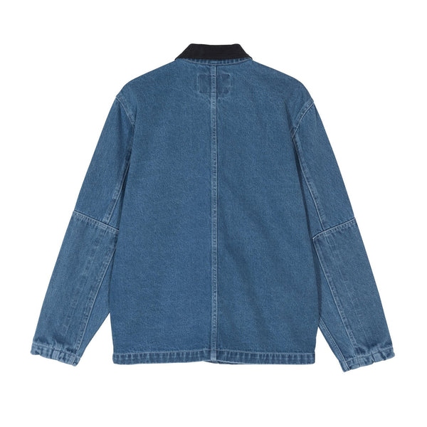 Stussy Denim Chore Coat Blue