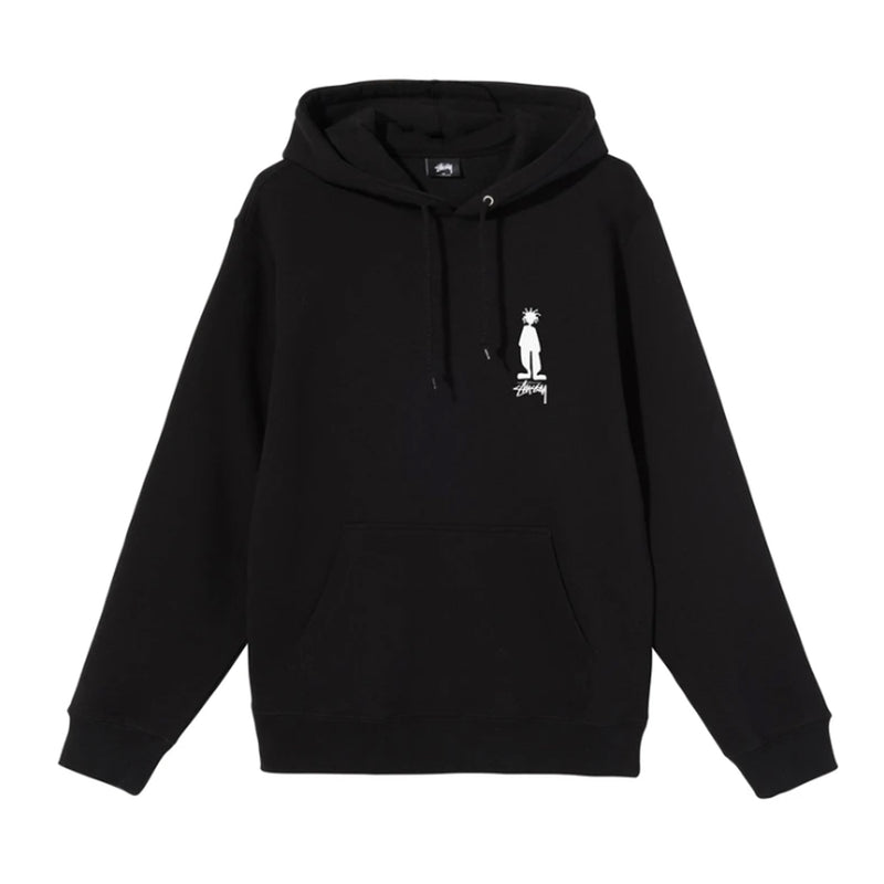 Stussy King Raggamuffin Hood Black
