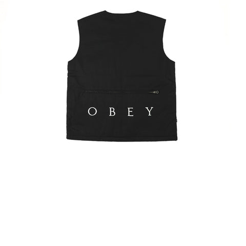 Obey Packing Vest Black