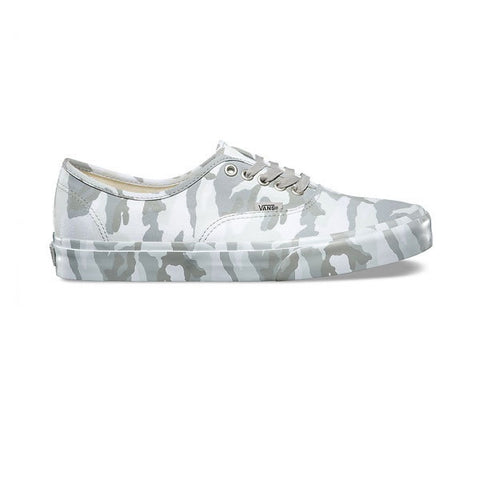 Vans Authentic (Mono Print) Snow Camo