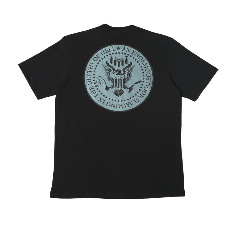 Kong Eagle Tee Black
