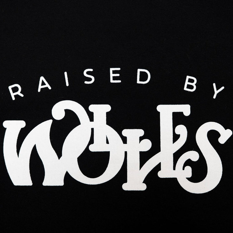 Raised by Wolves Menthol Tee Black