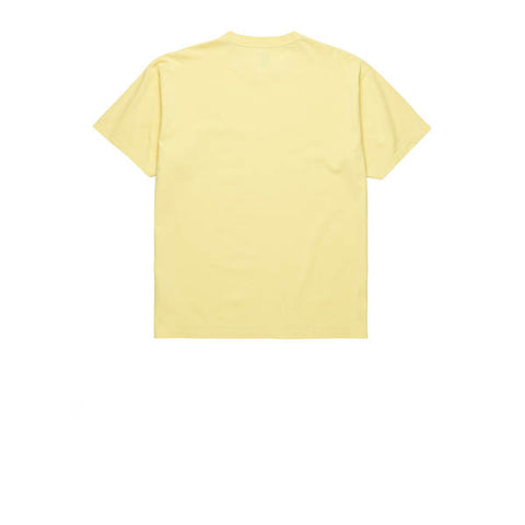 Polar Happy Sad Garment Dyed Tee Light Yellow