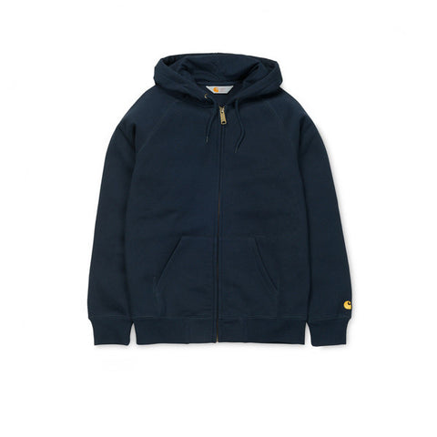 Carhartt Hooded Chase Jacket Navy - Kong Online - 1