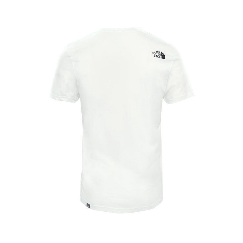 The North Face SS Simple Dome Tee White