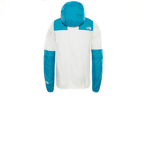 The North Face 1985 Mountain Jacket TNF White Crystal Teal