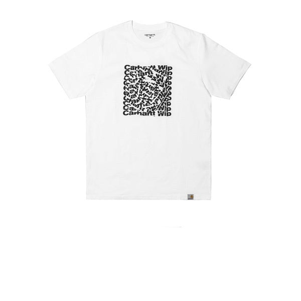 Carhartt S/S Circle Cut T-Shirt White Black