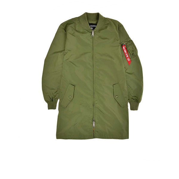 Alpha Industries MA1 TT Coat Sage