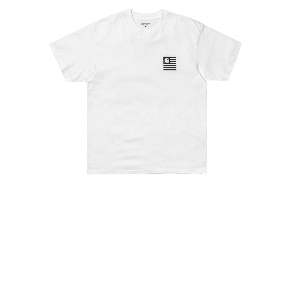 Carhartt S/S State Patch T-Shirt White