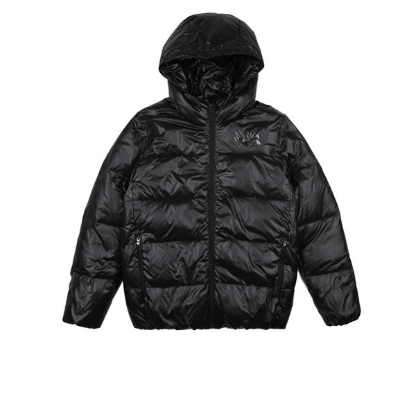 BBC Hooded Puffa Jacket Black - Kong Online - 1