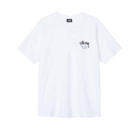 Stussy Don't Take The Bait White