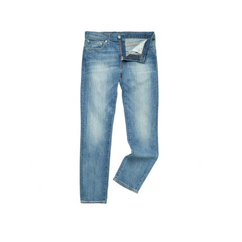 Levi's 511 Slim Fit Harbour Blue Washed - Kong Online - 1