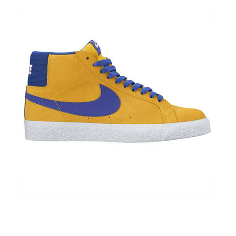 Nike SB Blazer Zoom Mid Tour Yellow Deep Night