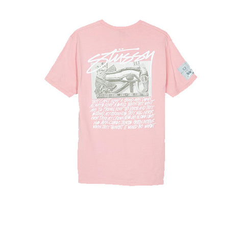 Stussy Emperor Tee Dusty Pink