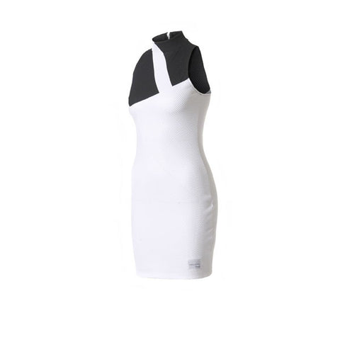 Adidas Mesh Dress White Black - Kong Online - 1