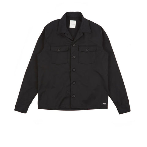 WOOD WOOD Franco Shirt Black - Kong Online - 2