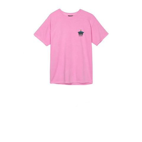 Stussy The Crown Pig Dyed Tee Pink