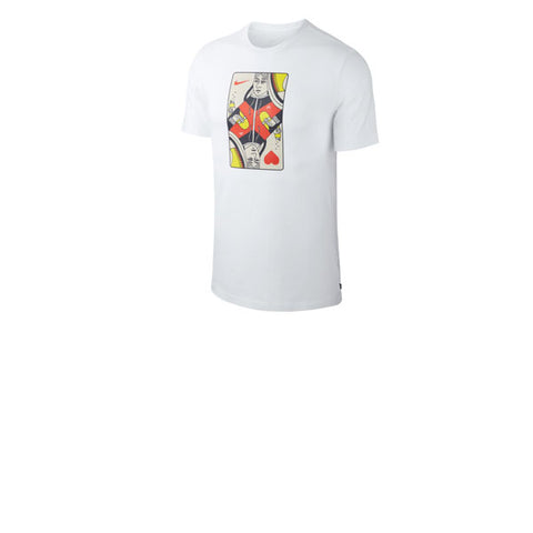 Nike SB Queen Card Tee White Habanero Red