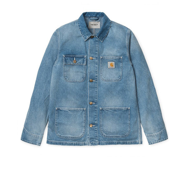 Carhartt Michigan Chore Coat Blue True Stone - Kong Online