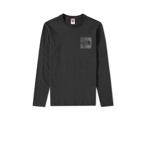 The North Face LS Fine Tee Black - Kong Online - 1