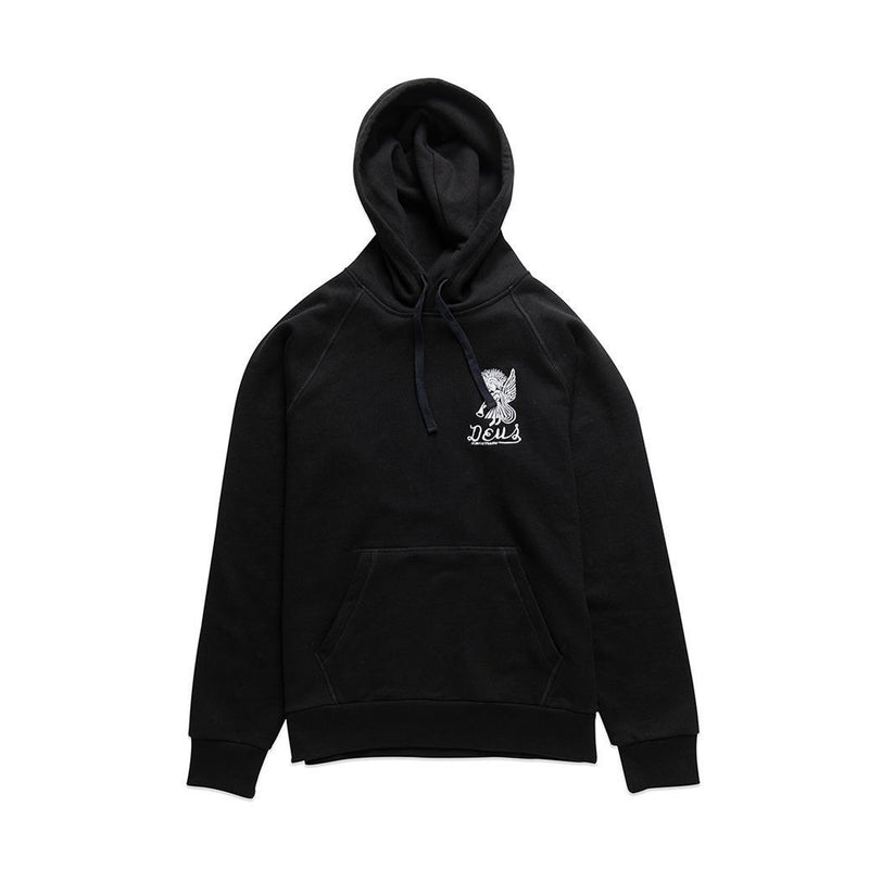 Deus Devil Address Hoodie Black