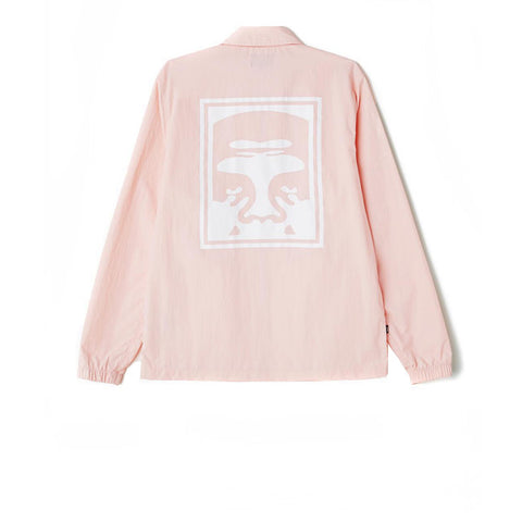 Obey Eighty Nine Graphic Jacket Pink