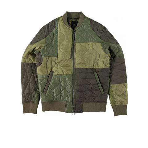Maharishi Upcycled Liner Olive - Kong Online - 1