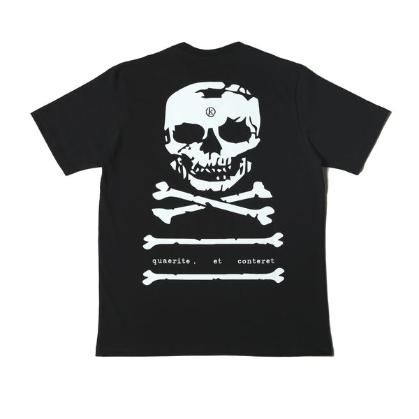 Kong Big Skull Tee Black