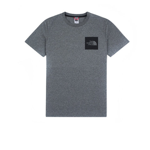 The North Face SS Fine Tee Grey Heather - Kong Online - 1