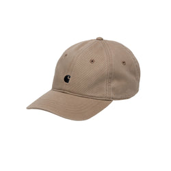 Carhartt WIP Madison Logo Cap Cotton Leather/Black