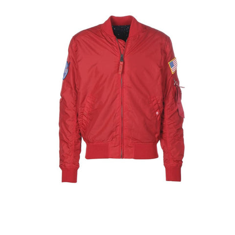 Alpha Industries MA1 TT NASA Reversible Speed Red